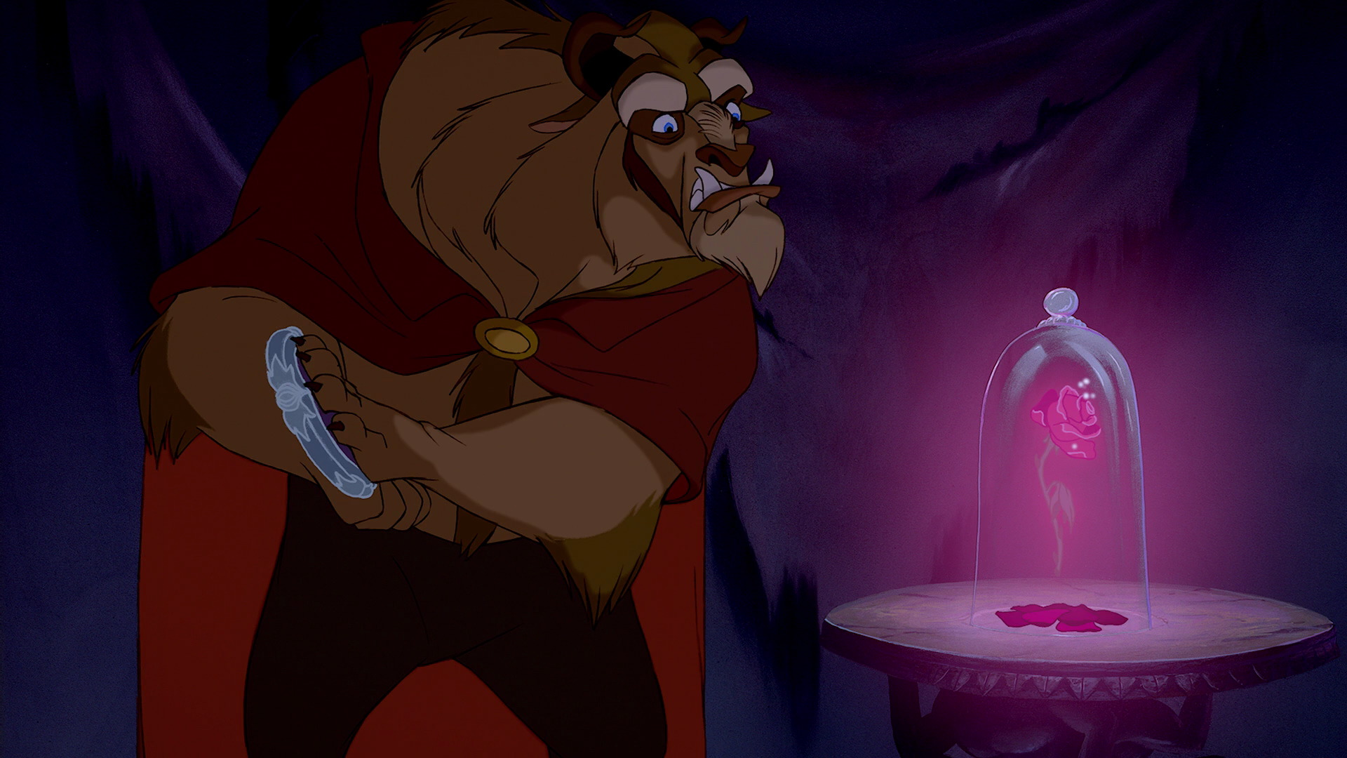 beastly compared to beauty and the In disney's 1991 animated version of beauty and the beast, the beast looked very much like a gentle lion there were a couple of small horns poking out of his head, but those could have easily been mistaken as tufts of hair.