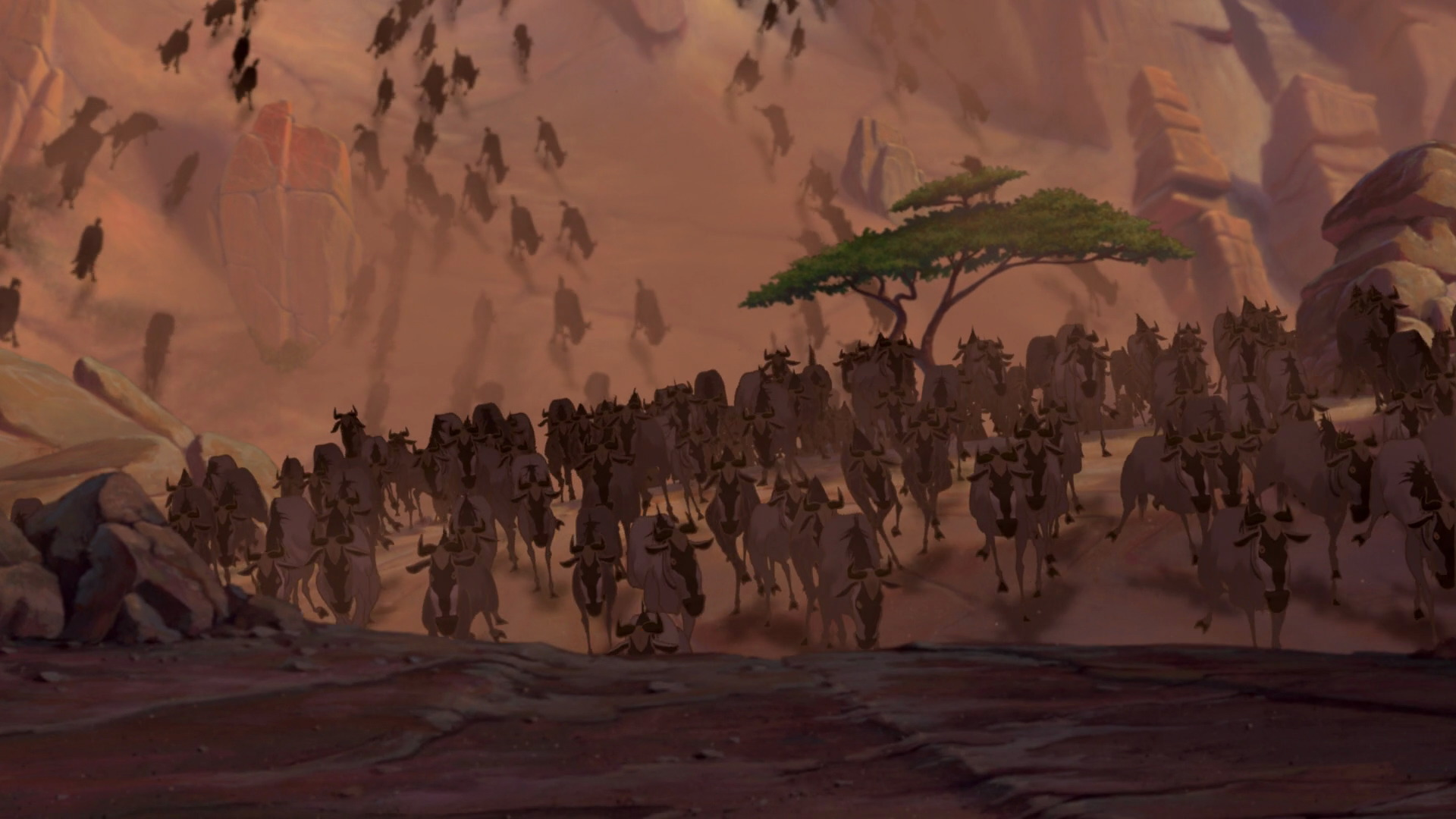 The Lion King 1994 Animation Screencaps
